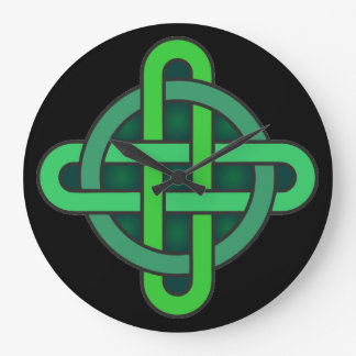 celtic knot ireland ancient symbol pagan irish gre large clock