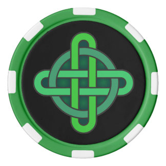 celtic knot ireland ancient symbol pagan irish gre poker chips