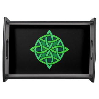 celtic knot ireland ancient symbol pagan irish gre serving tray