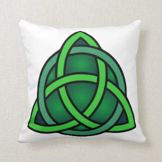 celtic knot ireland ancient symbol pagan irish gre throw pillow