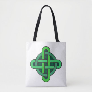 celtic knot ireland ancient symbol pagan irish gre tote bag