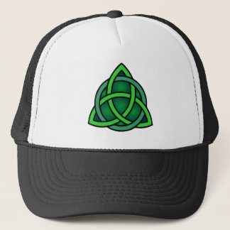 celtic knot ireland ancient symbol pagan irish gre trucker hat
