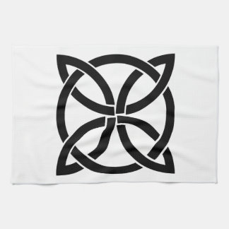 celtic knot ireland ancient symbol pagan irish kitchen towel
