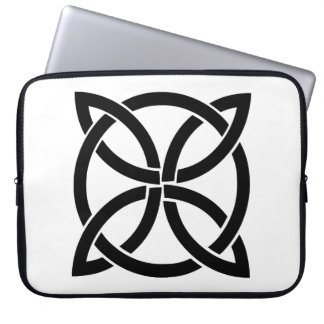 celtic knot ireland ancient symbol pagan irish laptop sleeve