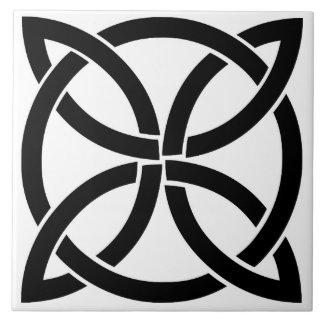 celtic knot ireland ancient symbol pagan irish tile