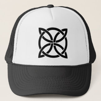 celtic knot ireland ancient symbol pagan trucker hat