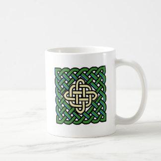 Celtic Knot Irish Coffee Mug