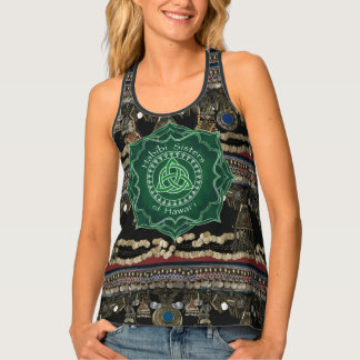 Celtic Knot Kuchi Belly Dance Tank Top