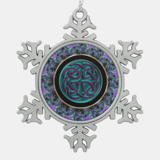 Celtic Knot Mandala Christmas Ornament