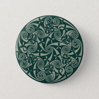 Celtic Knot Medallion Round Design, Irish Artwork 2 Inch Round Button