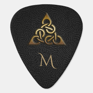 Celtic Knot Monogram Guitar Pick