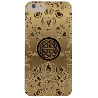 Celtic Knot on Gold Damask iPhone 6 Plus Case