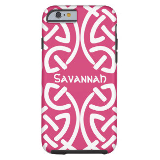 Celtic Knot Pattern Any Color Personalized iPhone Tough iPhone 6 Case