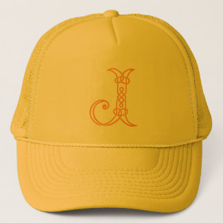 Celtic Knot Personalized Initial J Trucker Hat