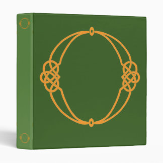 Celtic Knot Personalized Initial O 3 Ring Binders