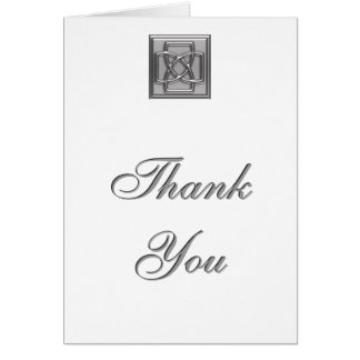 Celtic Knot Pin Thank You Card