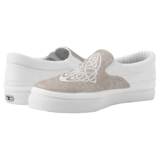 Celtic knot Slip-On sneakers