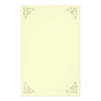 Celtic Knot Stationary Customized Stationery