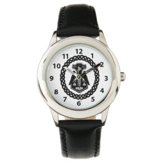Celtic Knot Thor's Hammer Watch