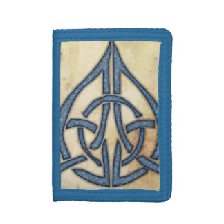 Celtic Knot Tri-fold Wallet