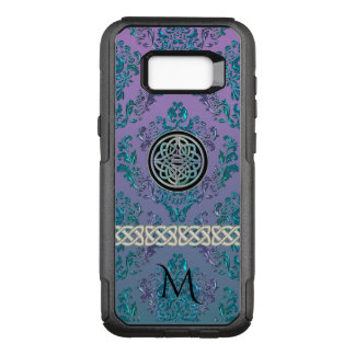 Celtic Knot Vintage Damask Monogram OtterBox Commuter Samsung Galaxy S8+ Case