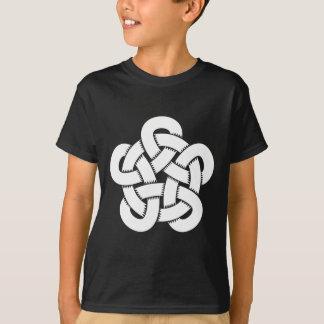 celtic knot woodcut style T-Shirt