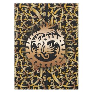 Celtic Knots & Copper Dragon - Alter Cloth Tablecloth