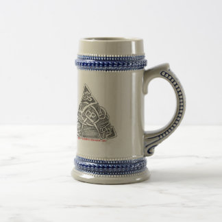 Celtic knots goblet beer stein