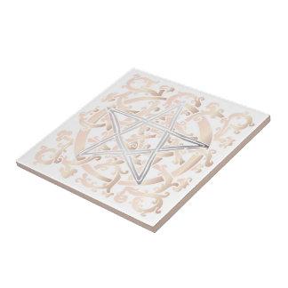 Celtic Knots & Pentacle - Trivet/Tile - 5 Tiles