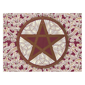 Celtic Knots & Pentagram 1 - Table or Alter Cloth Tablecloth