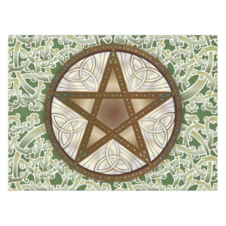 Celtic Knots & Pentagram 3 - Table or Alter Cloth Tablecloth