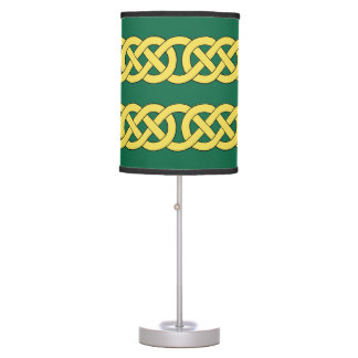 Celtic Knotwork Band Table Lamp