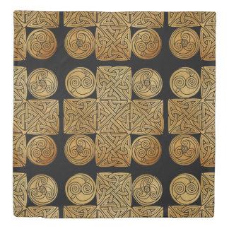 Celtic Knotwork Cross Duvet Cover
