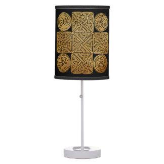 Celtic Knotwork Cross Table Lamp