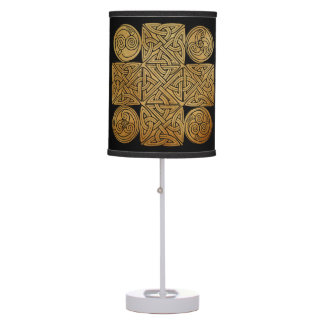 Celtic Knotwork Cross Table Lamps