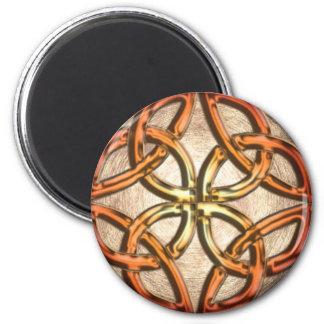 Celtic Knotwork Enamel Magnet