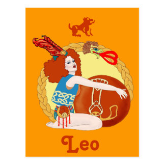 Celtic Leo Post Cards