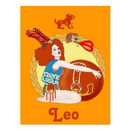 Celtic Leo Post Cards