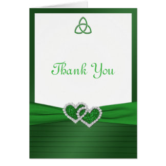 Celtic Love Knot Thank You Note Card