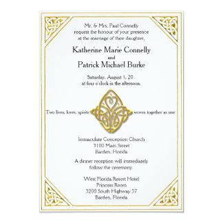 Celtic Love Knot Wedding Invitations
