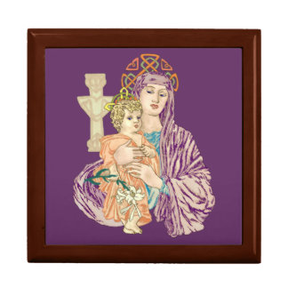 Celtic Madonna Gift Box