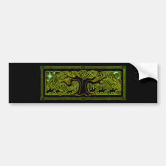 Celtic Magic - The Great Tree Bumper Sticker