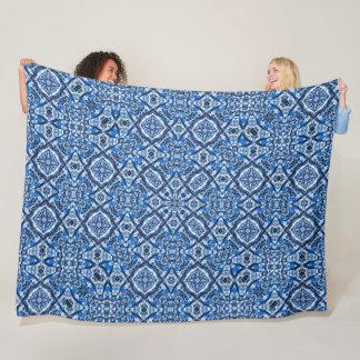 Celtic Magic Winter Gate Mandala Quilt Fleece Blanket