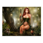 Celtic Maiden, Postcard