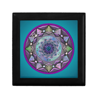 Celtic Mandala and Celtic Knot Gift or Jewelry Box