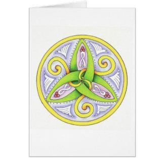 Celtic Mandala Card