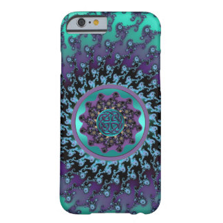 Celtic Mandala on Colorful Fractal iPhone 6 Case