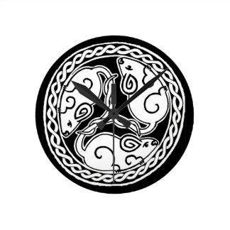 Celtic Mice clock