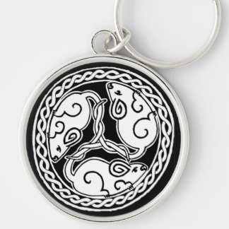 Celtic Mice Keychain