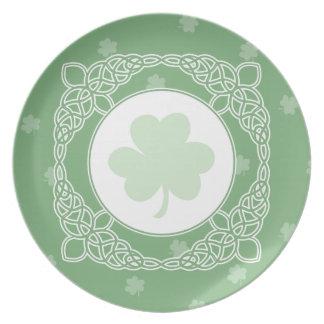 Celtic Mist Plate - Green